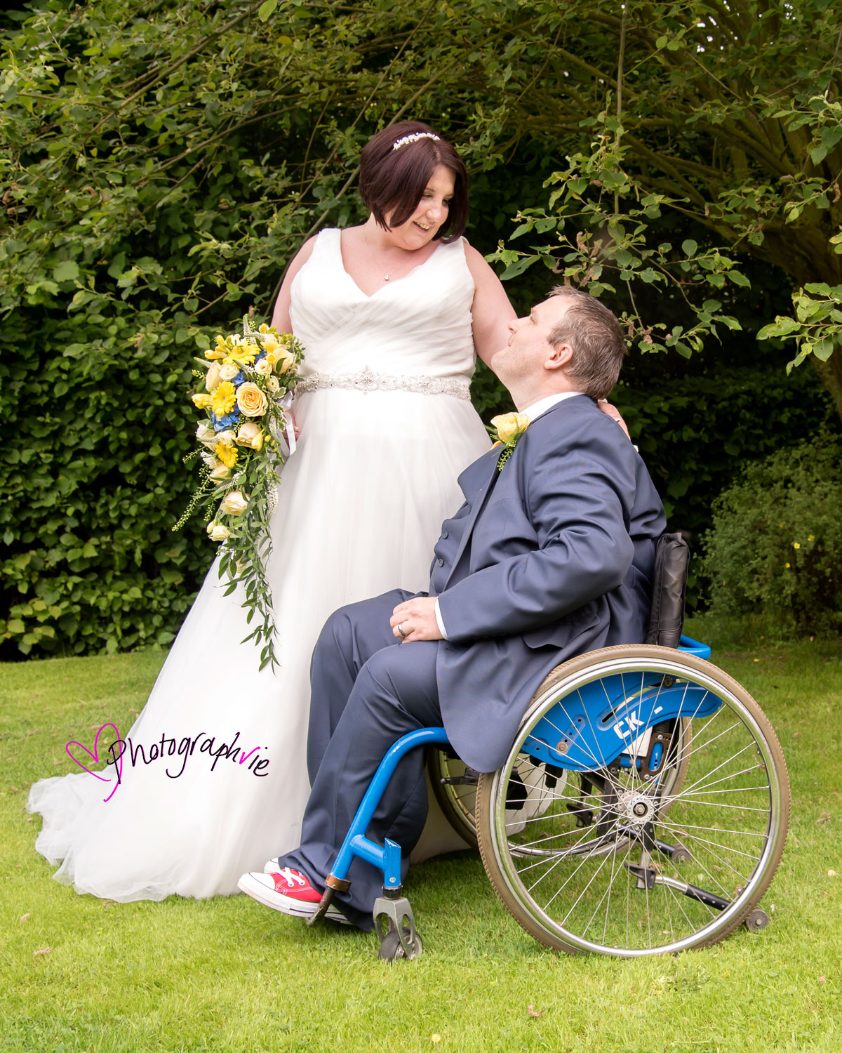 A beautiful day - For a beautiful couple...