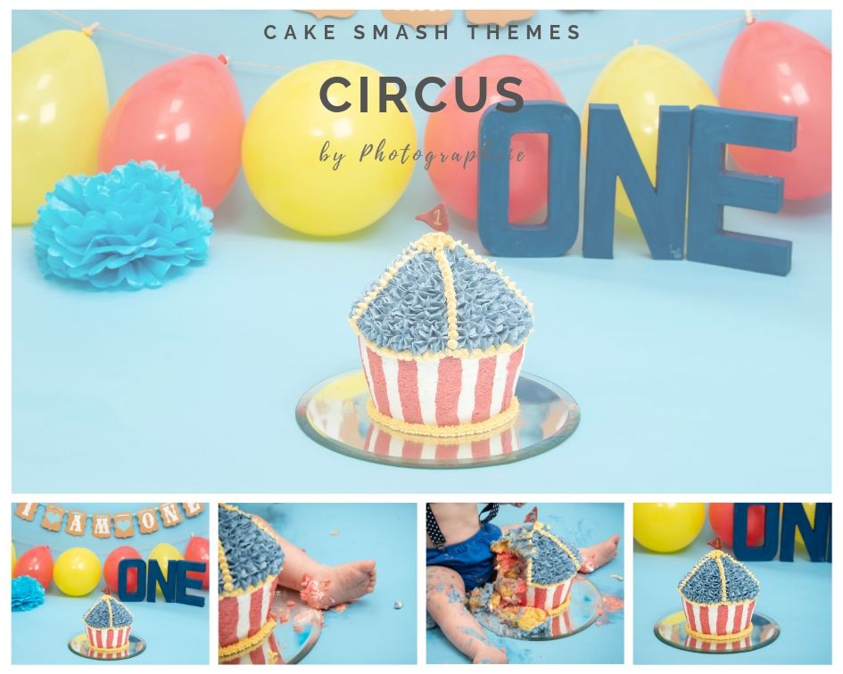 Circus Cake Smash Photoshoot
