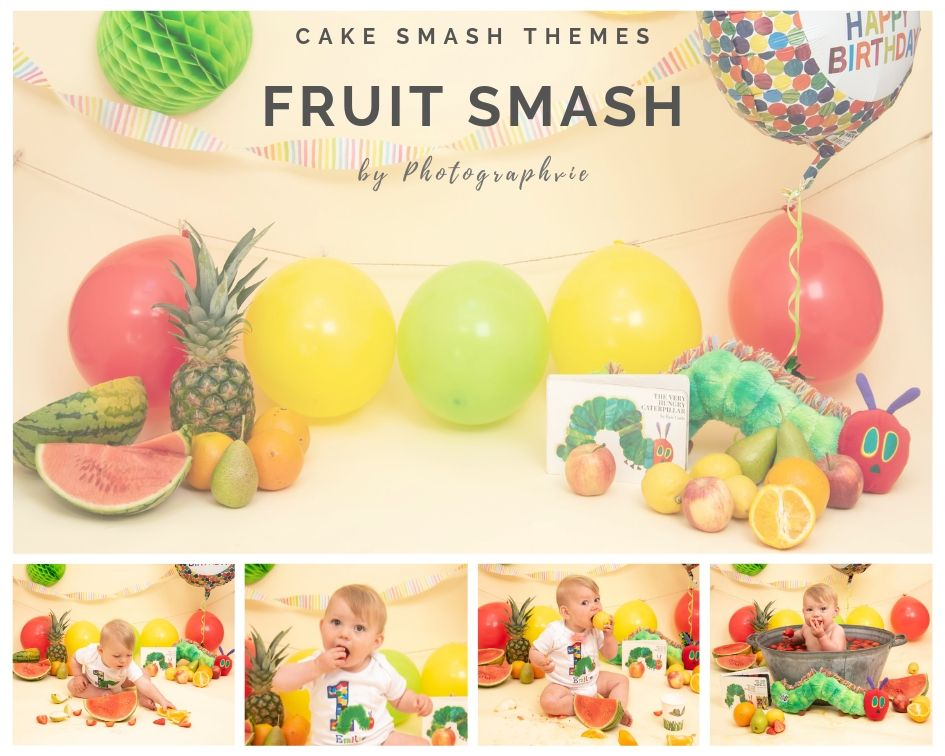 Fruit Smash Photoshoot