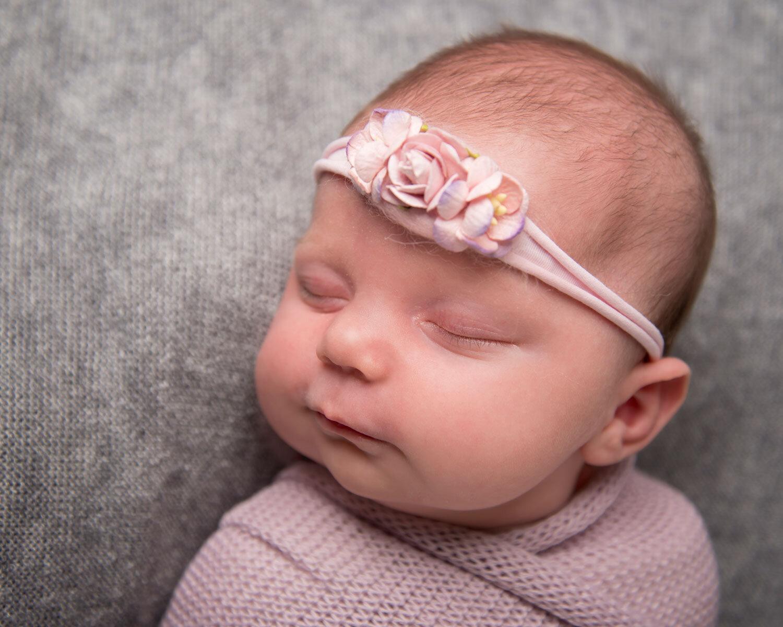 newborn first month photoshoot sleepy posed wrapped baby photography ely studio newborn cake smash family cambridge photographer near me (270).jpg