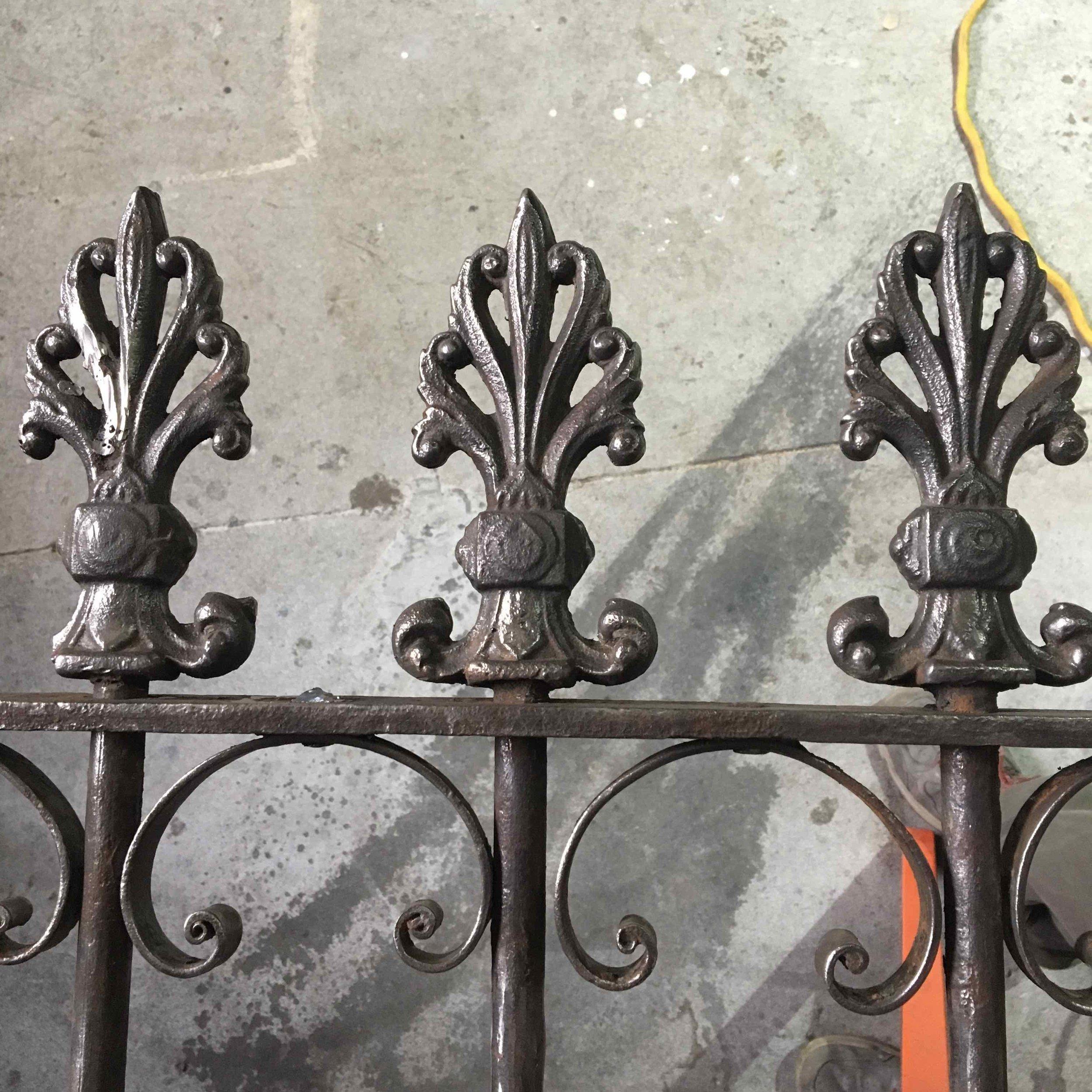 Cast Iron Gate Rehab, Fort Greene, Brooklyn