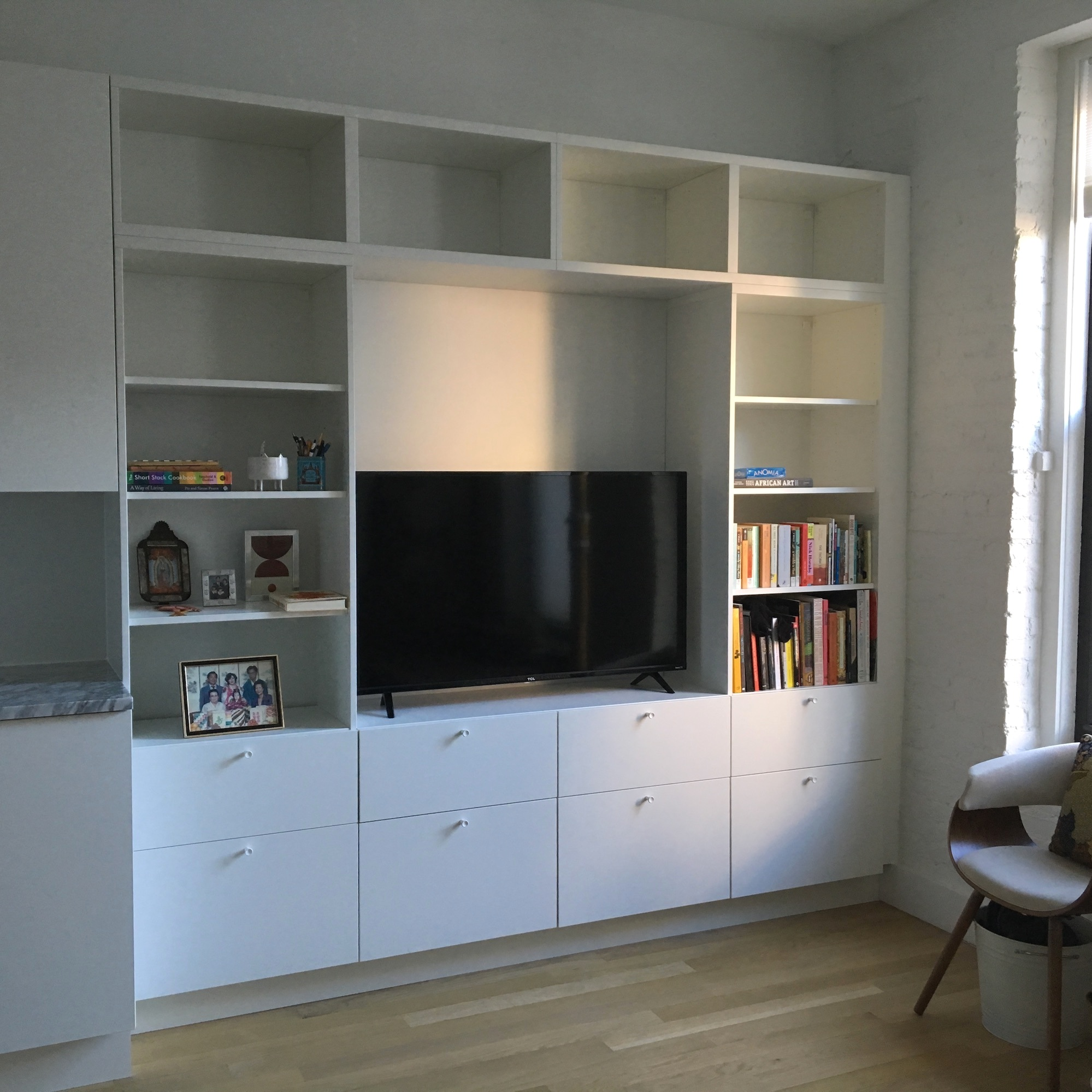 Ikea Cabinets, Williamsburg, Brooklyn