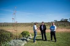 ICC Sydney CEO & Sommelier meet with regional farmers