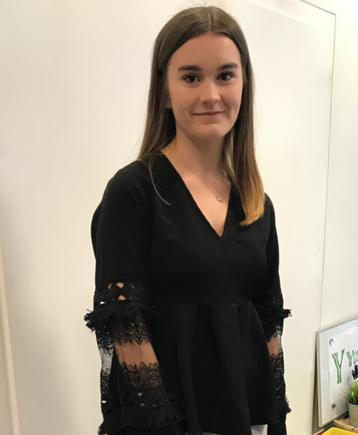 Rebecca Hall                               Social media intern
