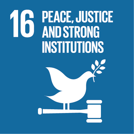 About this goal - Promote peaceful and inclusive societies for sustainable development, provide access to justice for all and build effective, accountable and inclusive institutions at all levels.