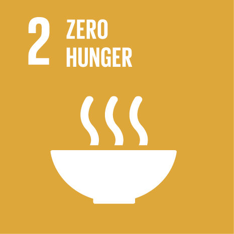 50%  - Committed to donating food waste to address SDG 2