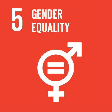 63% - Committed to ensuring that at least 50% of content for their event was provided by women to address SDG 5