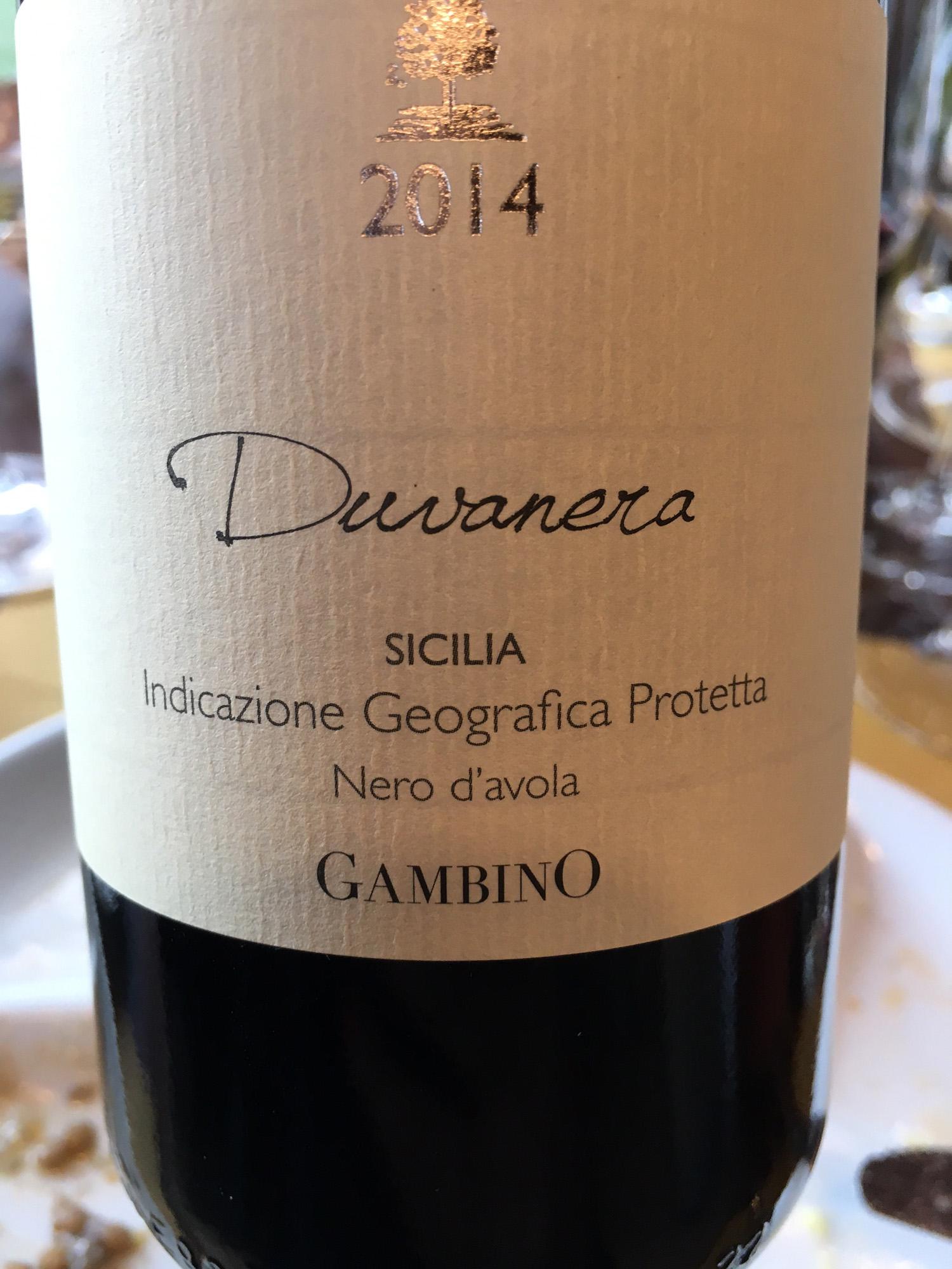 Wine tasting at Gambino Winery