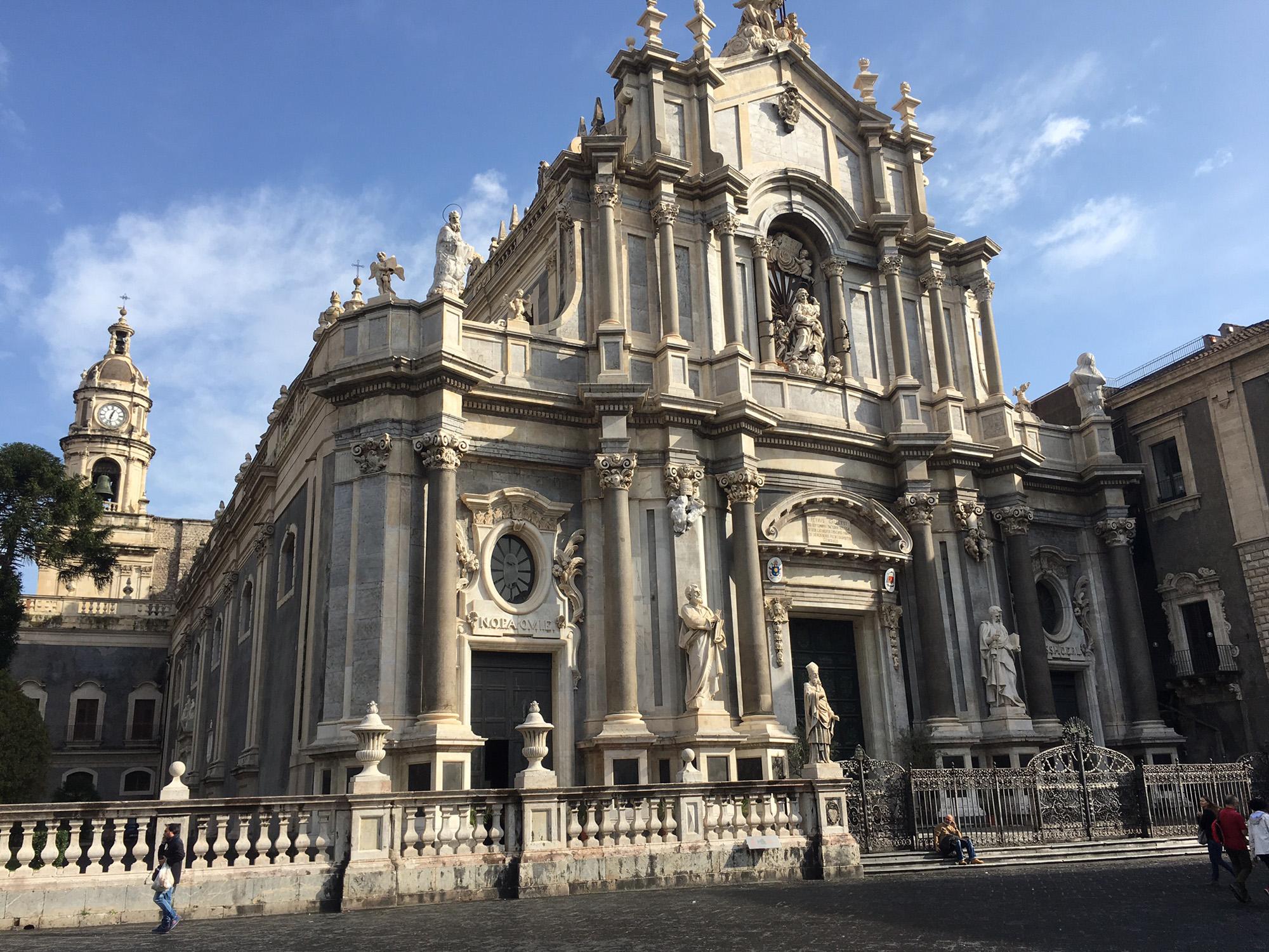 Catania Duomo Square