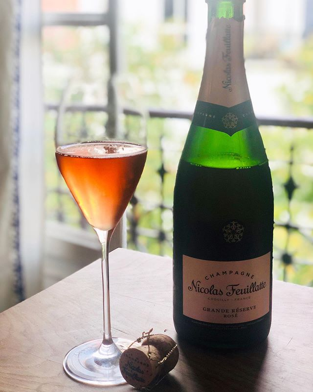 """Once you acquire a taste of Champagne, nothing else will do."" @nicolasfeuillatte . . #champagne #champagneweekend #rosechampagne #Wine #santé #summerwines #rethinkwine #wine #champagne #paristours #winetasting #bonneboucheevent #champagneflowing #foodandwinetours #foodandwinetravel #thebonnebouche #wineetbeauté #paristours #wineaficionado #instafrance #instaparis #instatravel #instagood #instadessert #instawine #instawines #wineaficionado  #wineexpert #wine #winegirl #france #instadesserts #frenchdesserts #frenchwinescholar #nicolasfeuillatte"