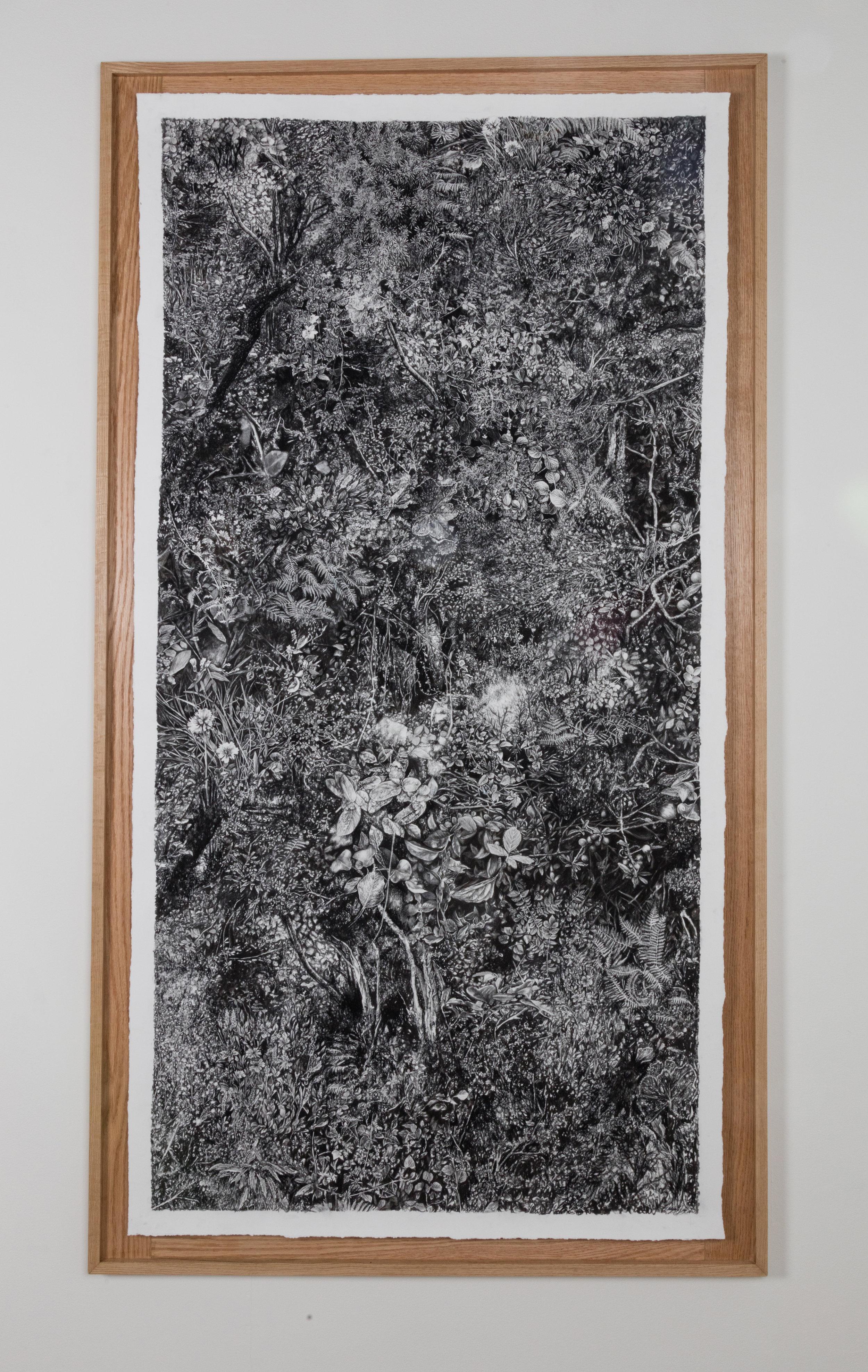 """Panel 2 of """"Florilegium"""""""