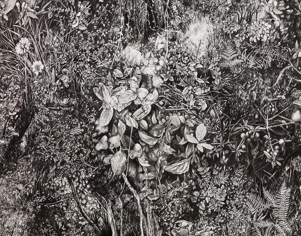 """Detail of """"Florilegium"""""""