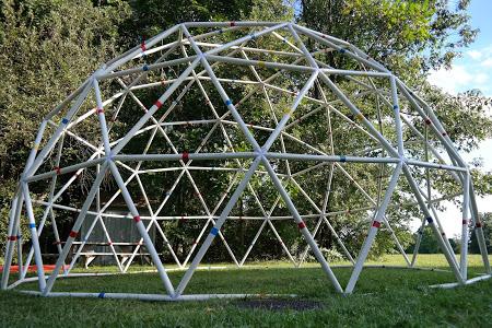 PVC Geodesic Dome