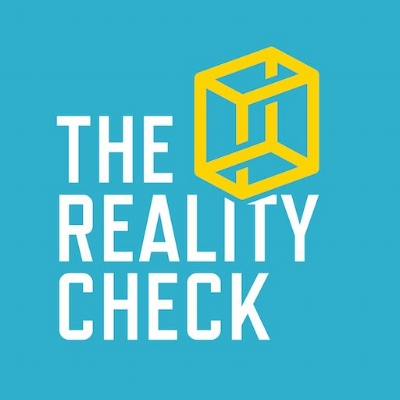 click through the image for The Reality Check podcast