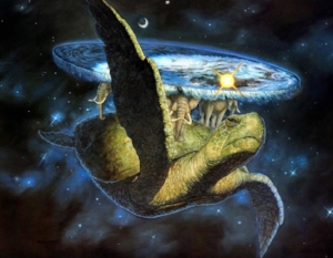 Image is from Discworld credit to artist Paul Kidby