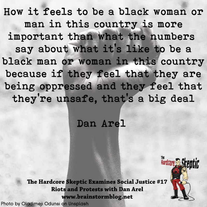 Dan Arel oppression and safety quote.jpg