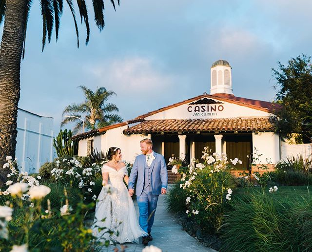 Mr. & Mrs. Bradshaw! These two just said I Do this past weekend at The Casino in San Clemente. Congratulations to Michelle & Martin!