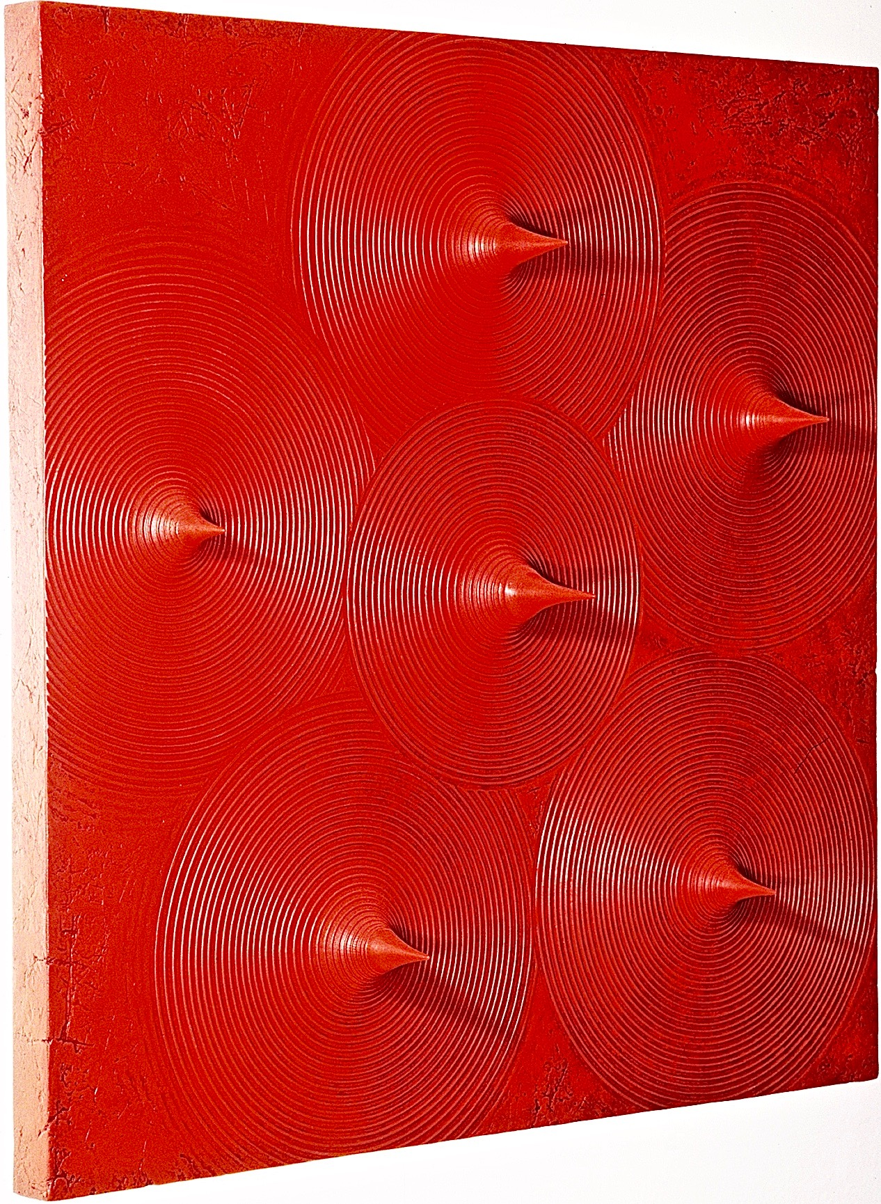 Thomas Coffin - Spikes (red) - side view