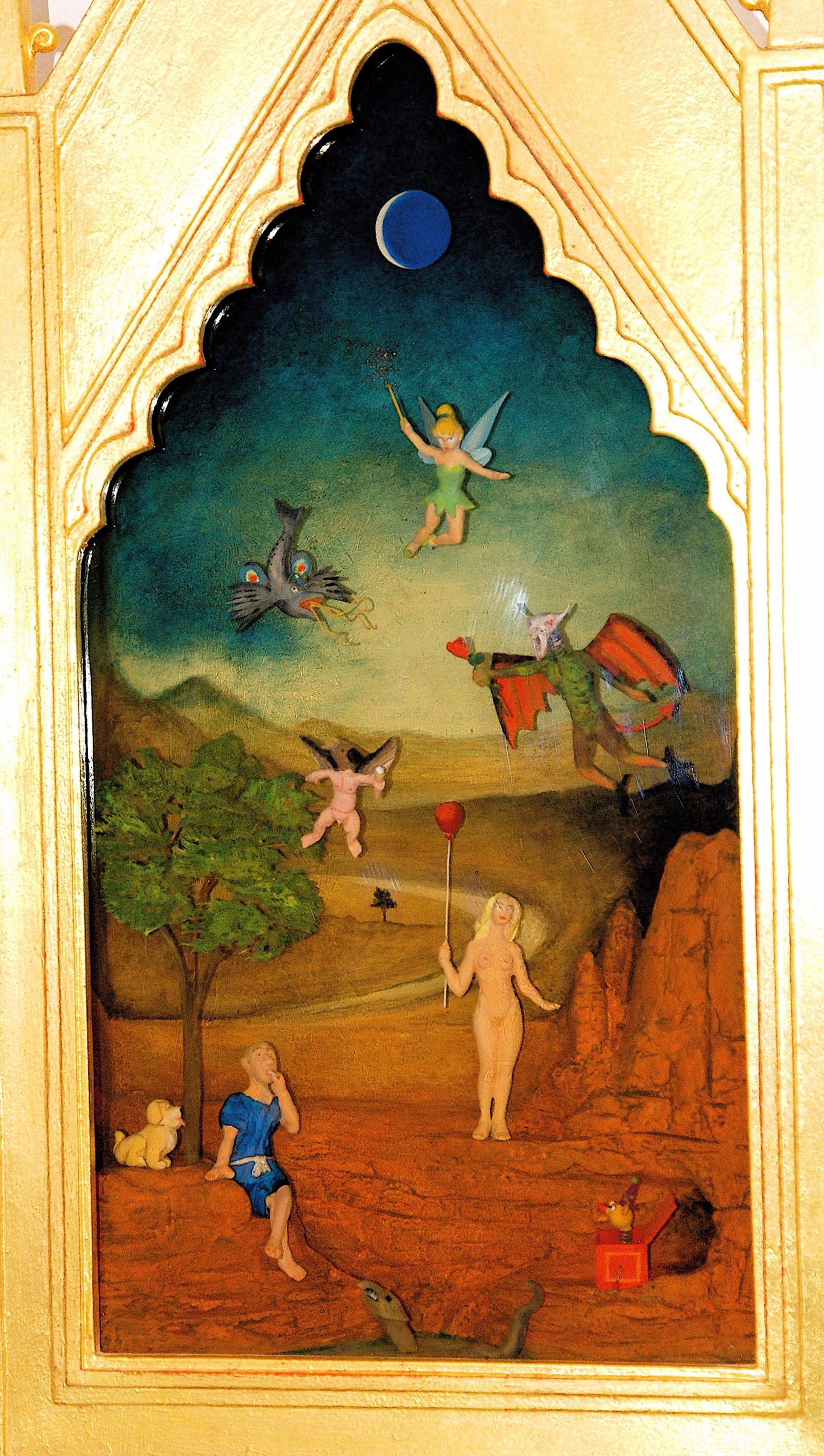 Thomas Coffin - The Temptation of Saint Anthony (detail)