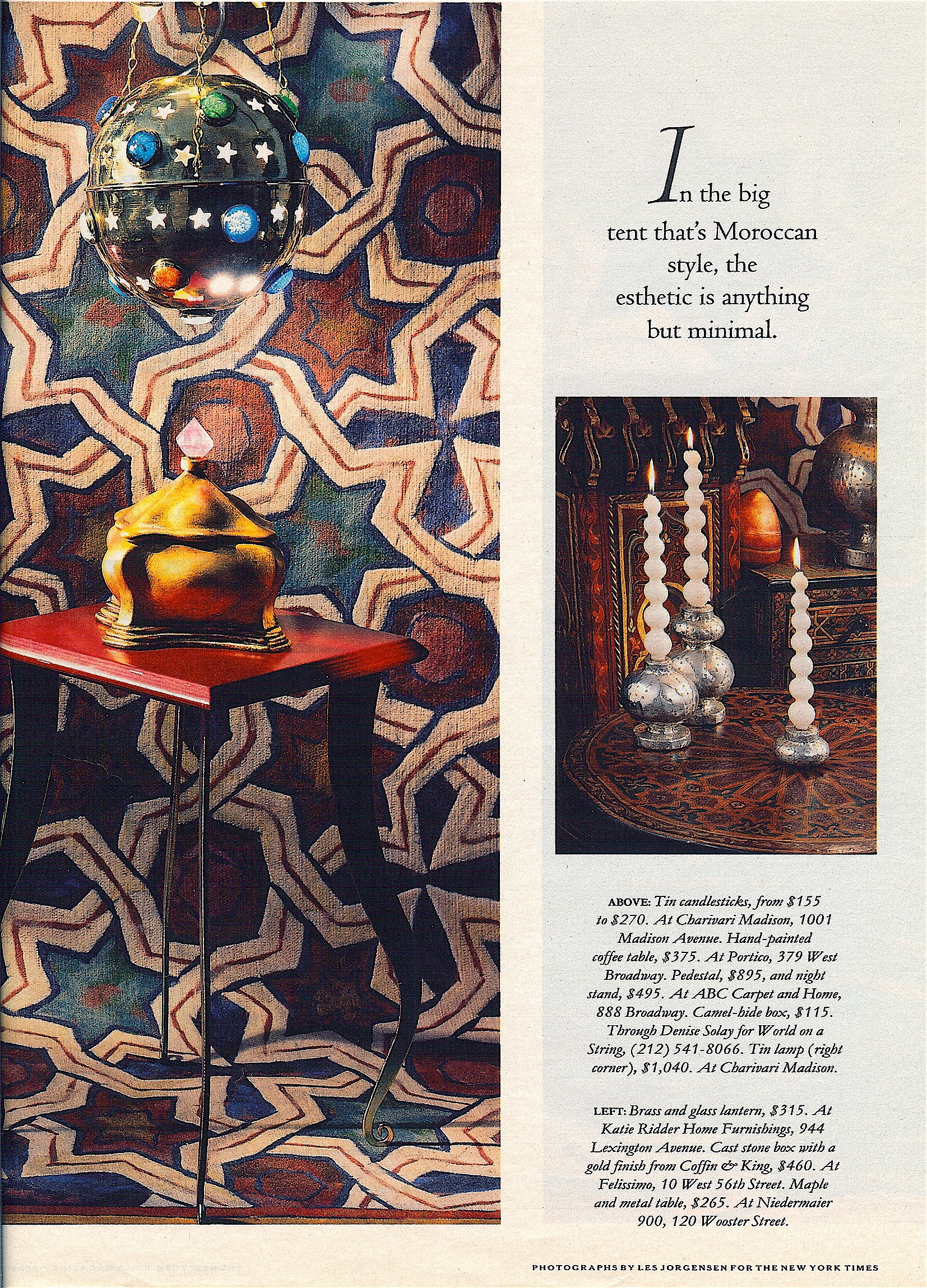 Coffin & King Press - Coffin & King Gilded Box featured in The New York Times Magazine