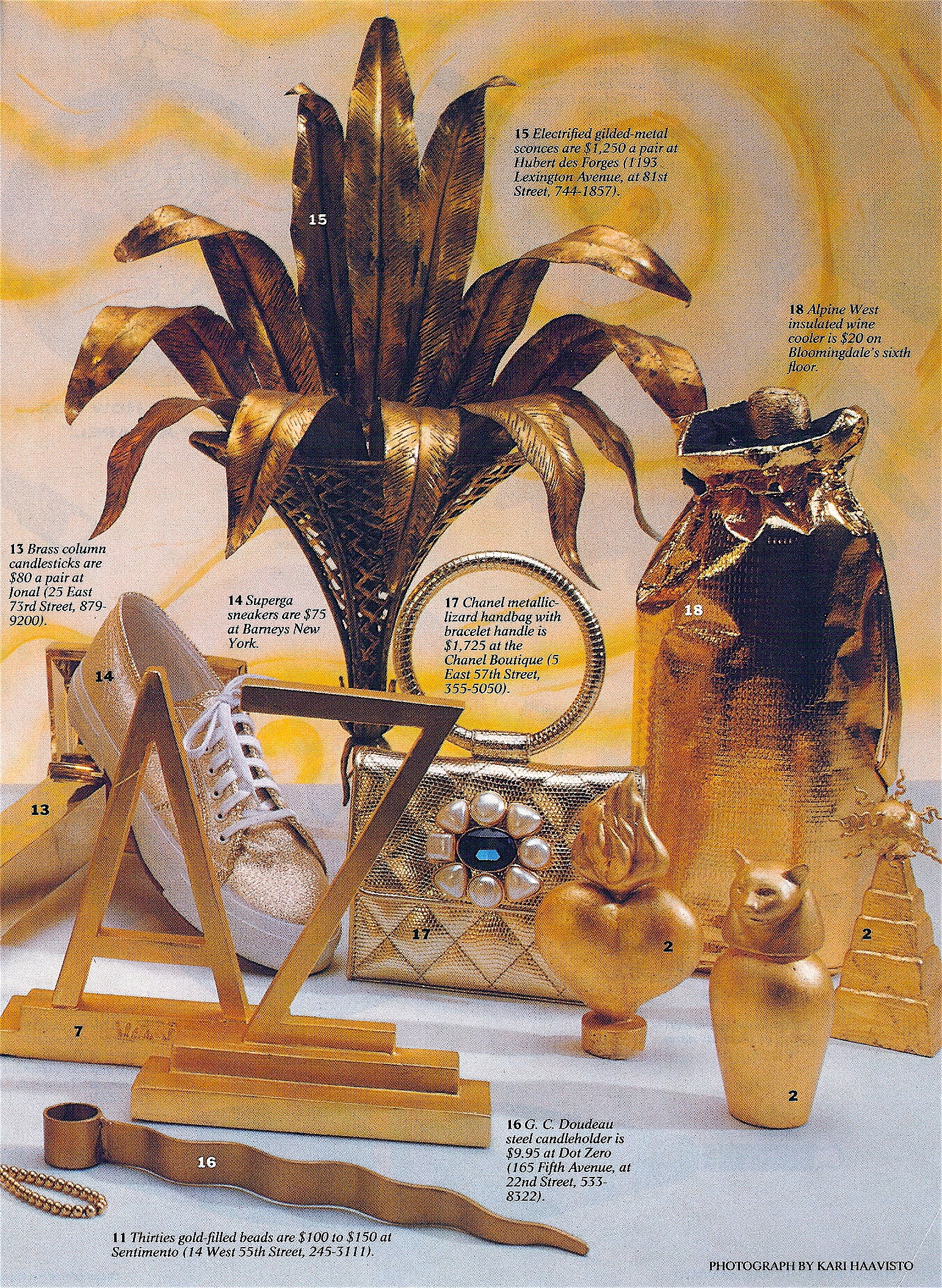 Coffin & King Press - Coffin & King Gilded Perfume Bottles featured in New York Magazine