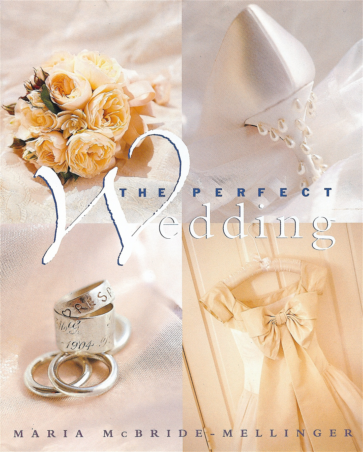 Coffin & King Press - Coffin & King Gilded Vase and Gold Wedding Band featured in The Perfect Wedding