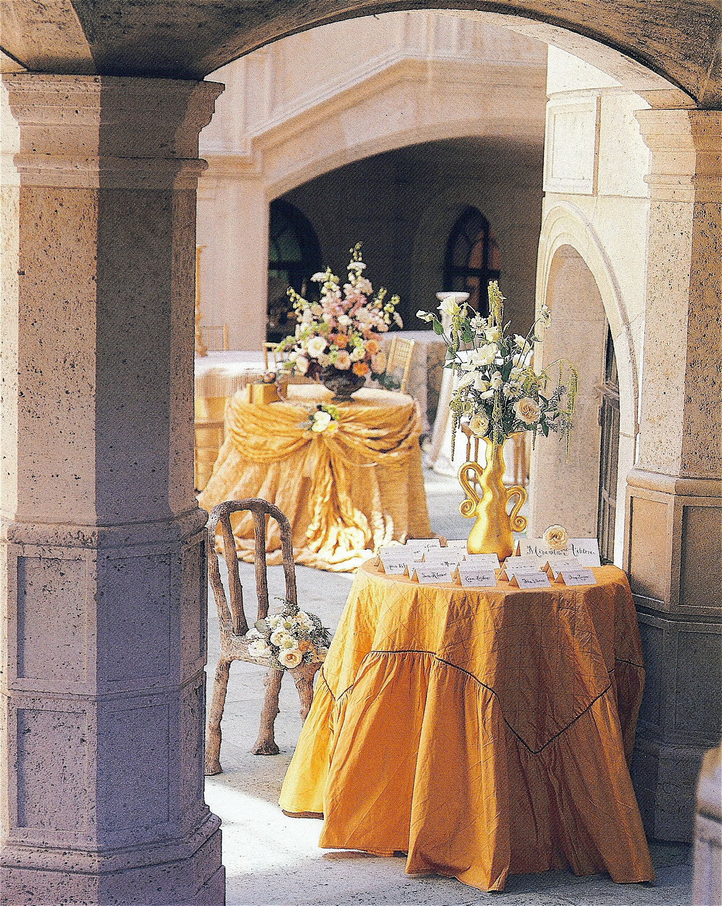 Coffin & King Press - Coffin & King Gilded Vase featured in The Perfect Wedding