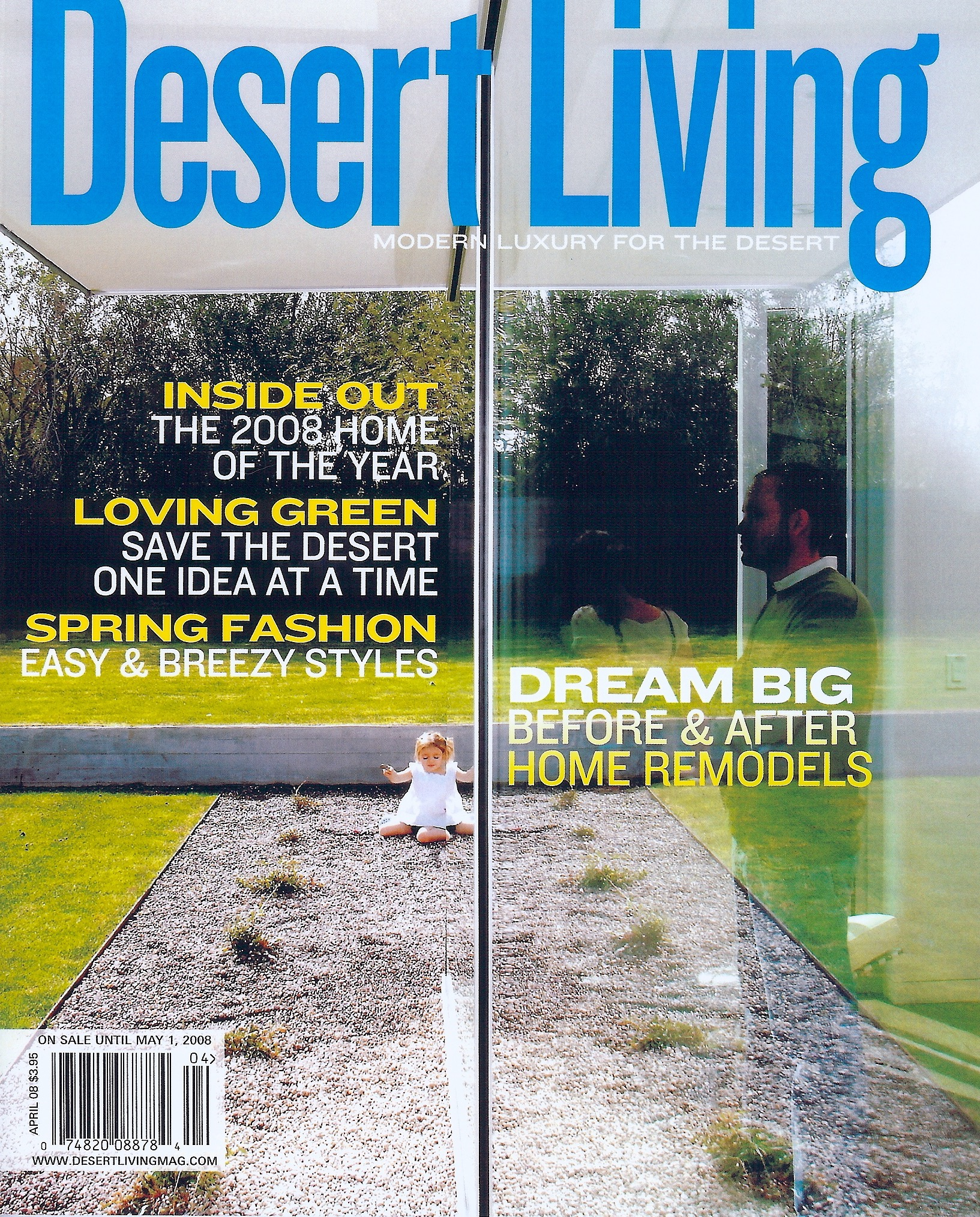 Coffin & King Press - Thomas Coffin and Julia King paintings featured in Desert Living Magazine