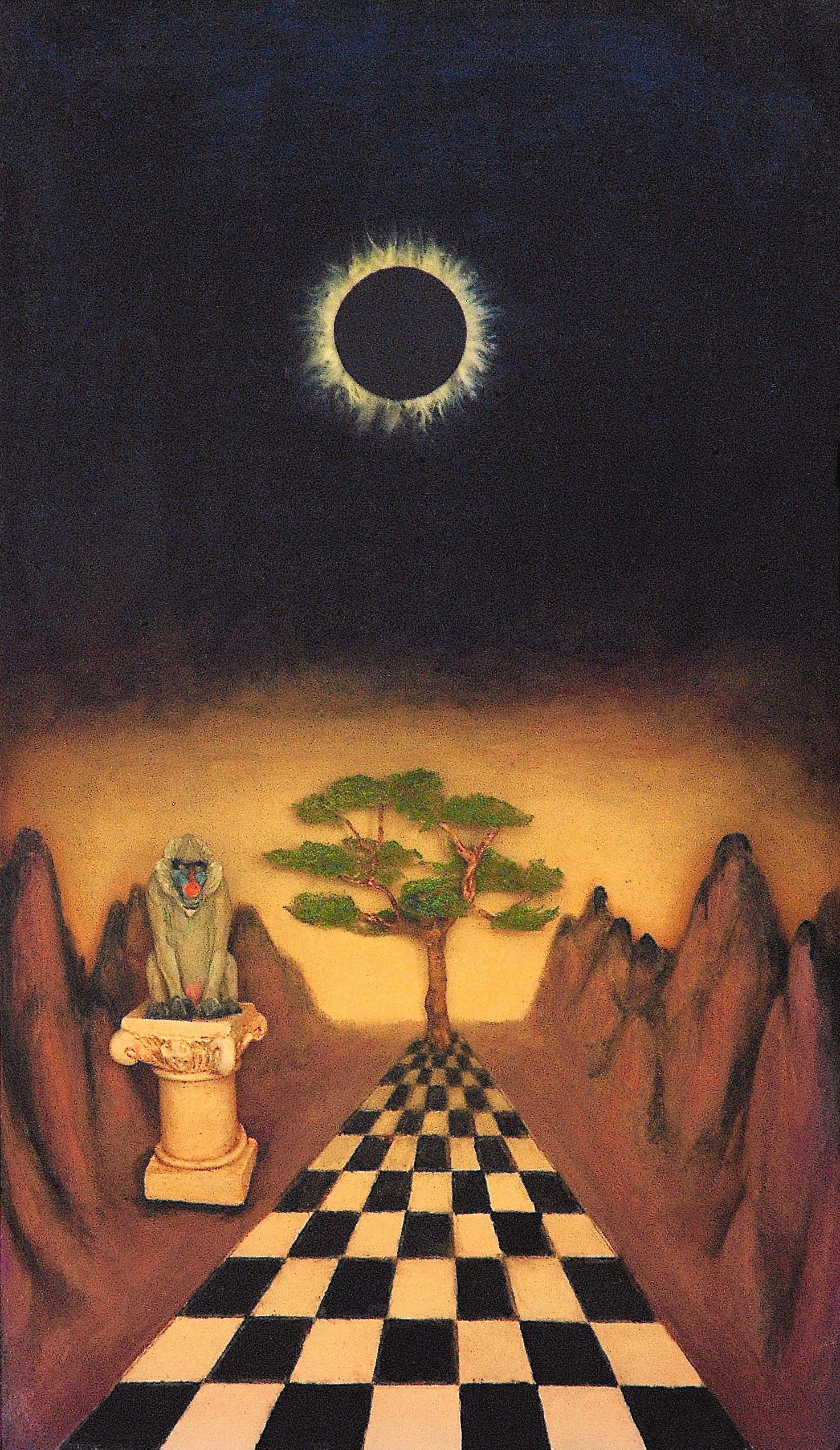 Thomas Coffin - Tree of Knowledge (detail)