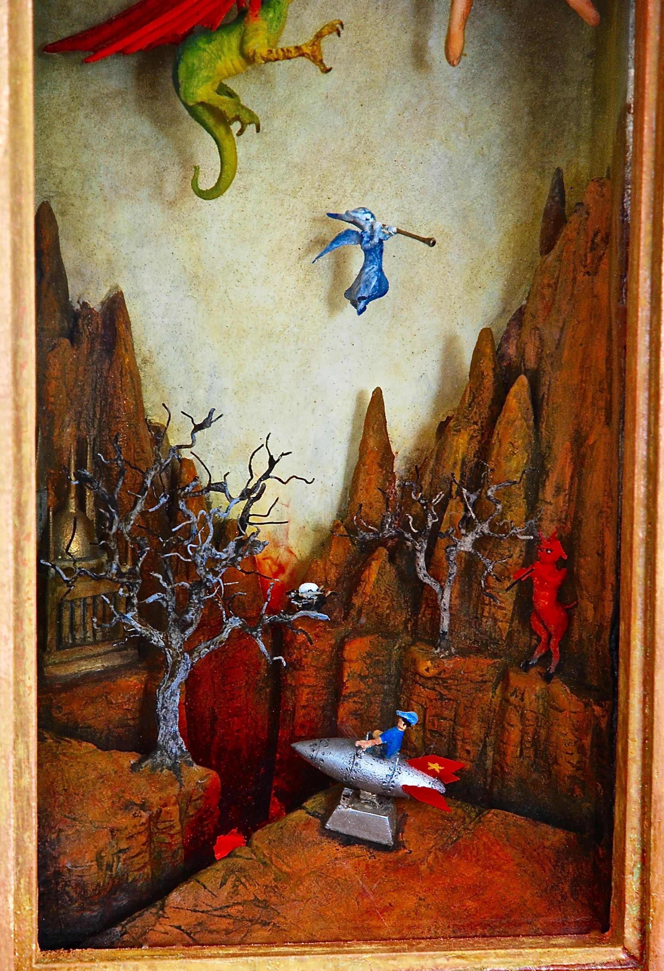 Thomas Coffin - Little Johnny's Rocket Ride (detail)