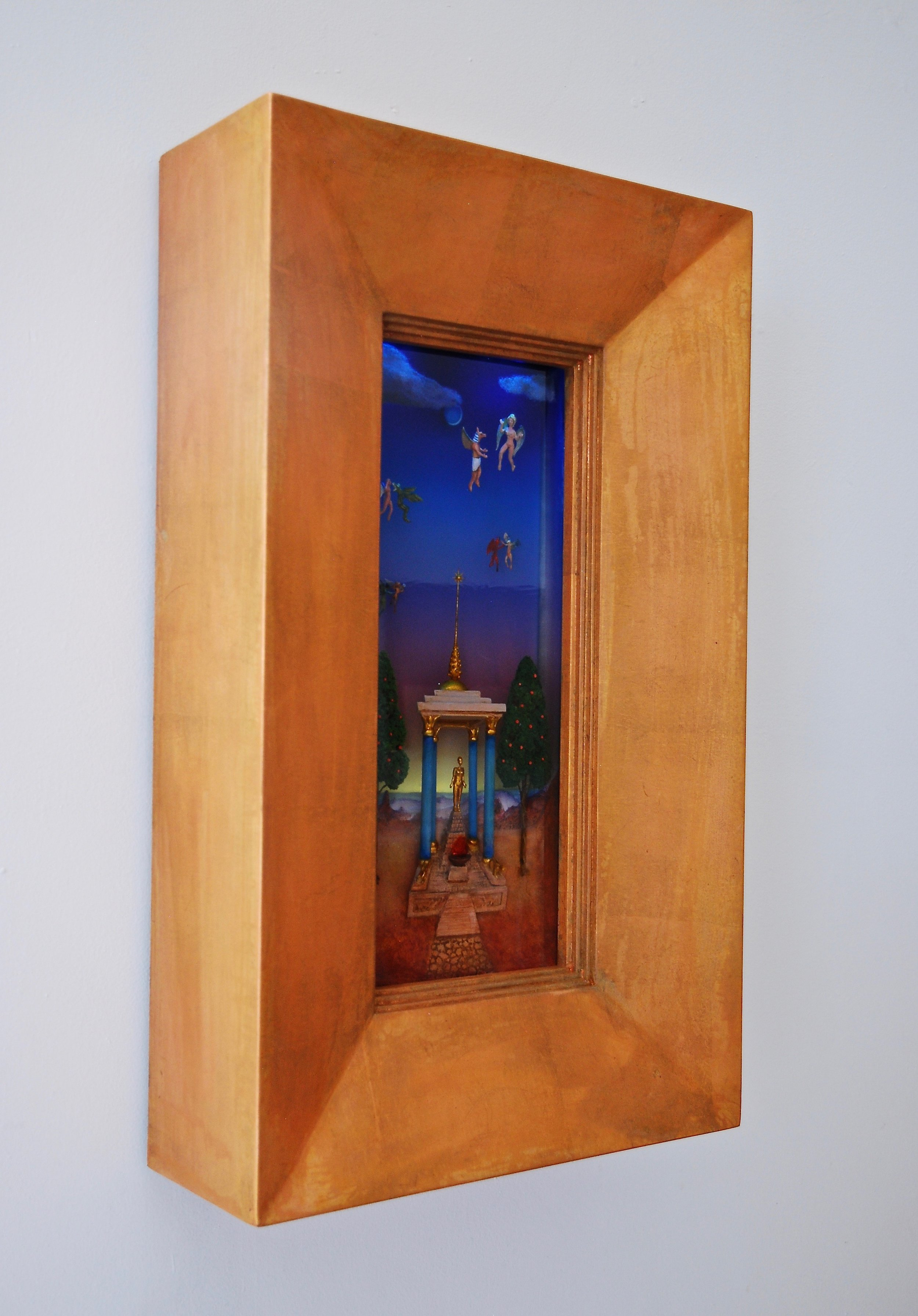 Thomas Coffin - Conversations at the Temple of Baal (side view)