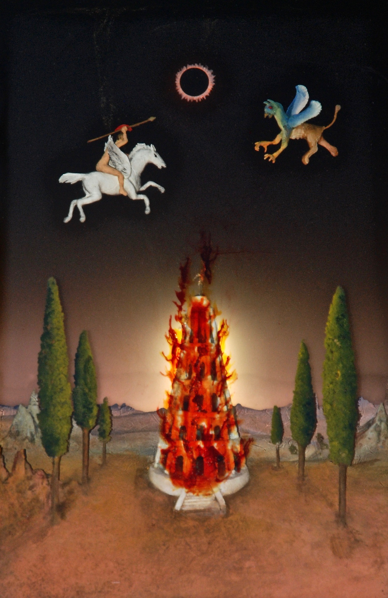 Thomas Coffin - Lunchtime in Babylon (embedded lighting detail)