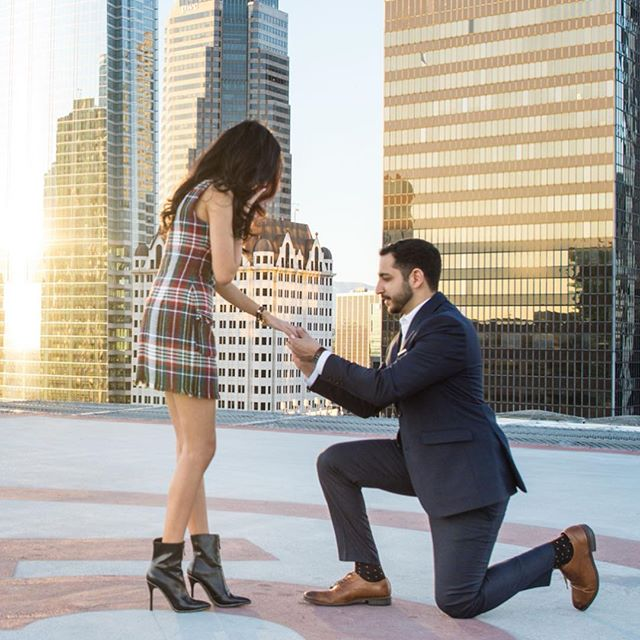 For his proposal, the sky was the limit. Thank you #CyrusandMena for allowing @Janvier_LA to be a part of your happily ever after ♥️