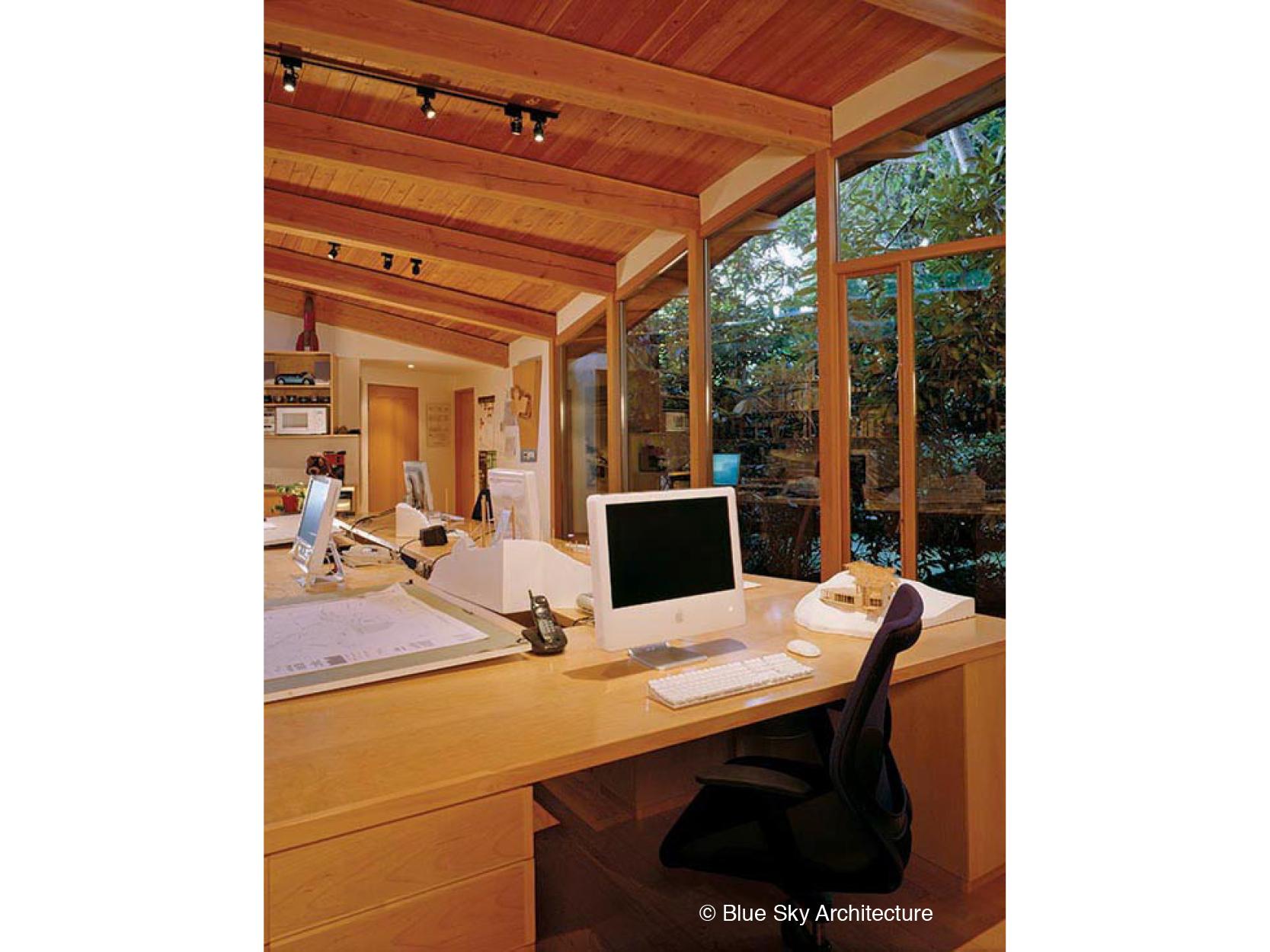 Studio with Custom Workspace Design