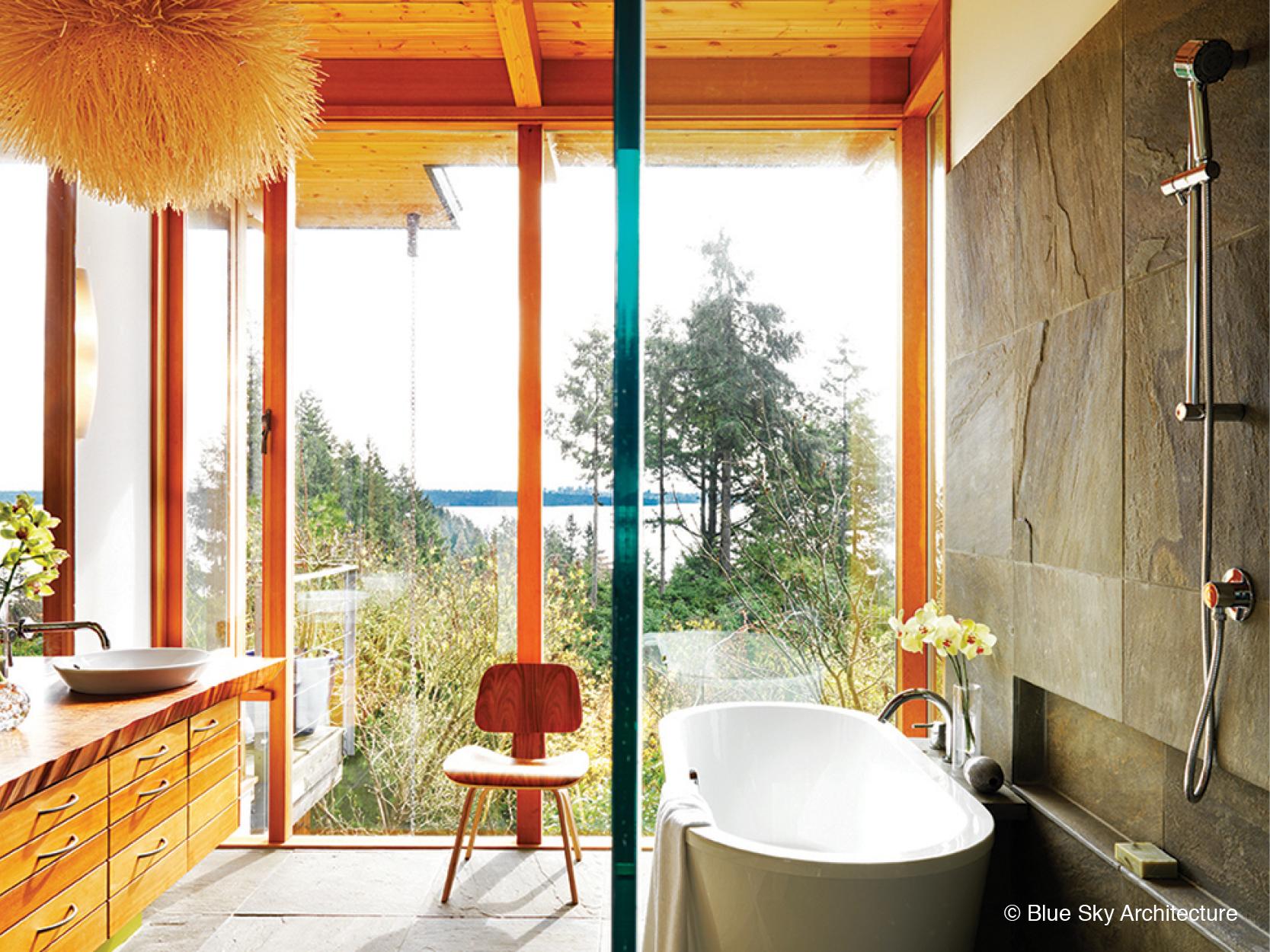 Organic Interior Architecture Ensuite Design