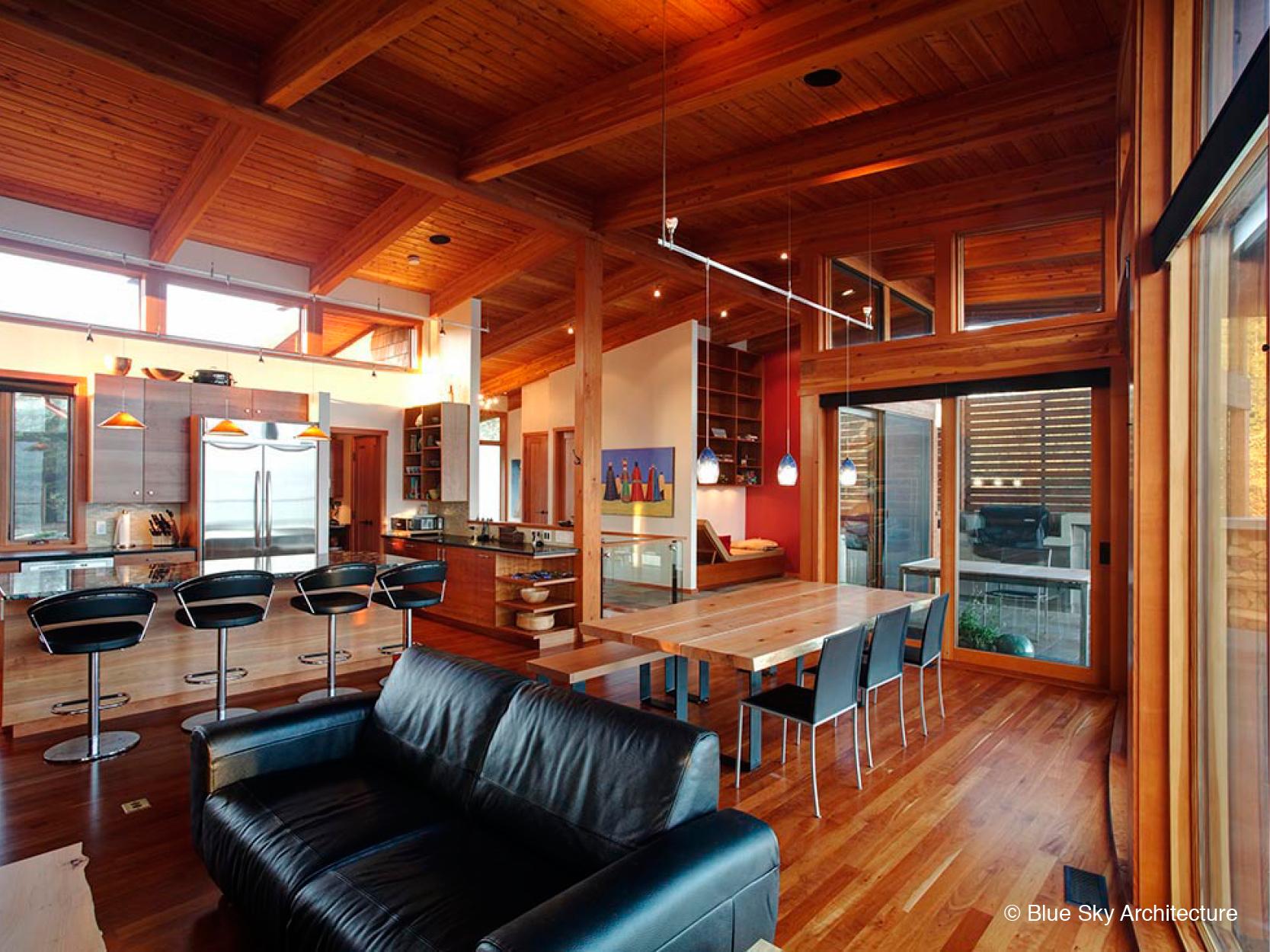 Custom Interior Design with Open Floor Plan