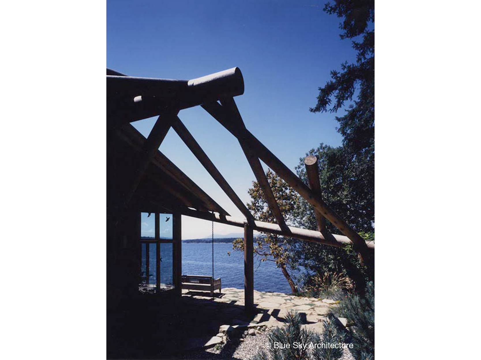 Heavy Timber Structure at Ocean View Terrace
