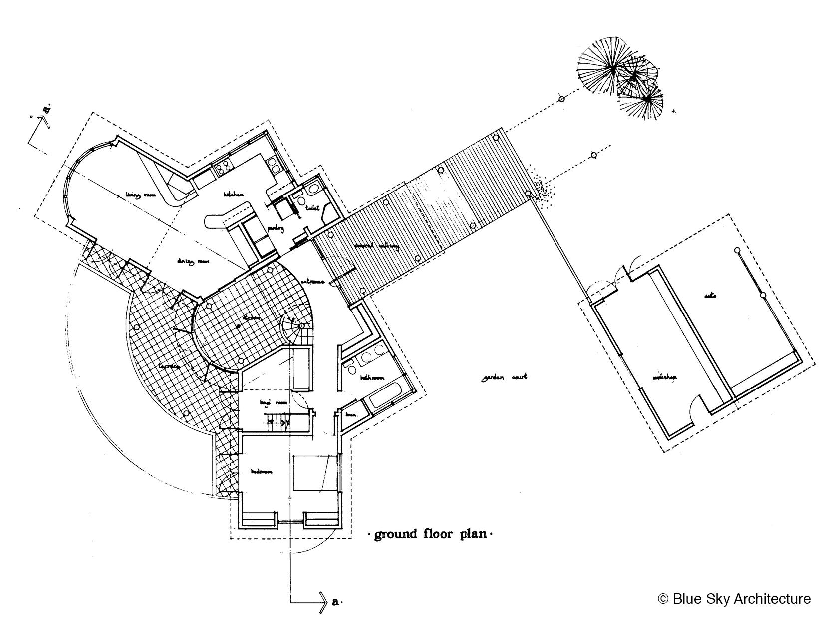 Gull Wing Floor Plan