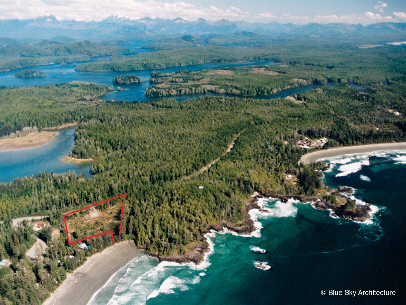 Island Beach Home Site