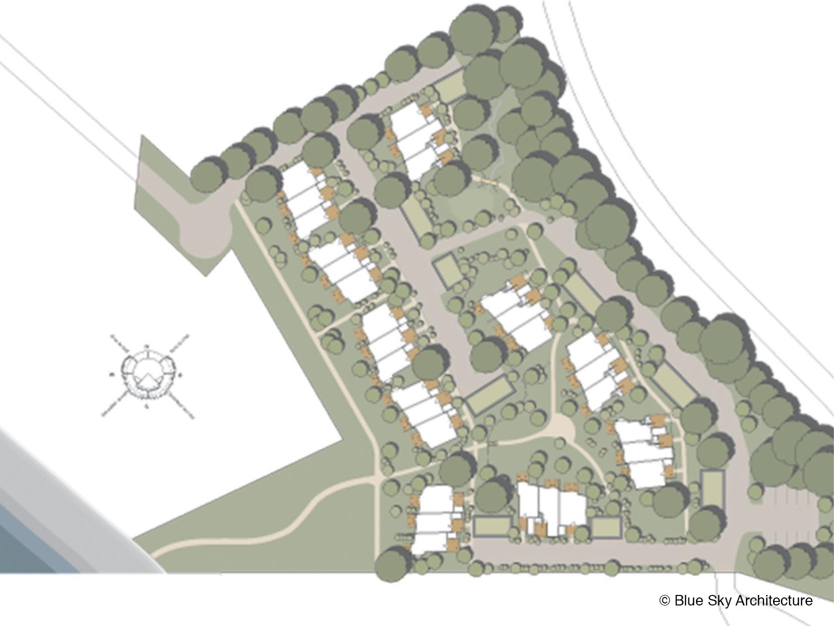 Chesterman Beach Home site plan