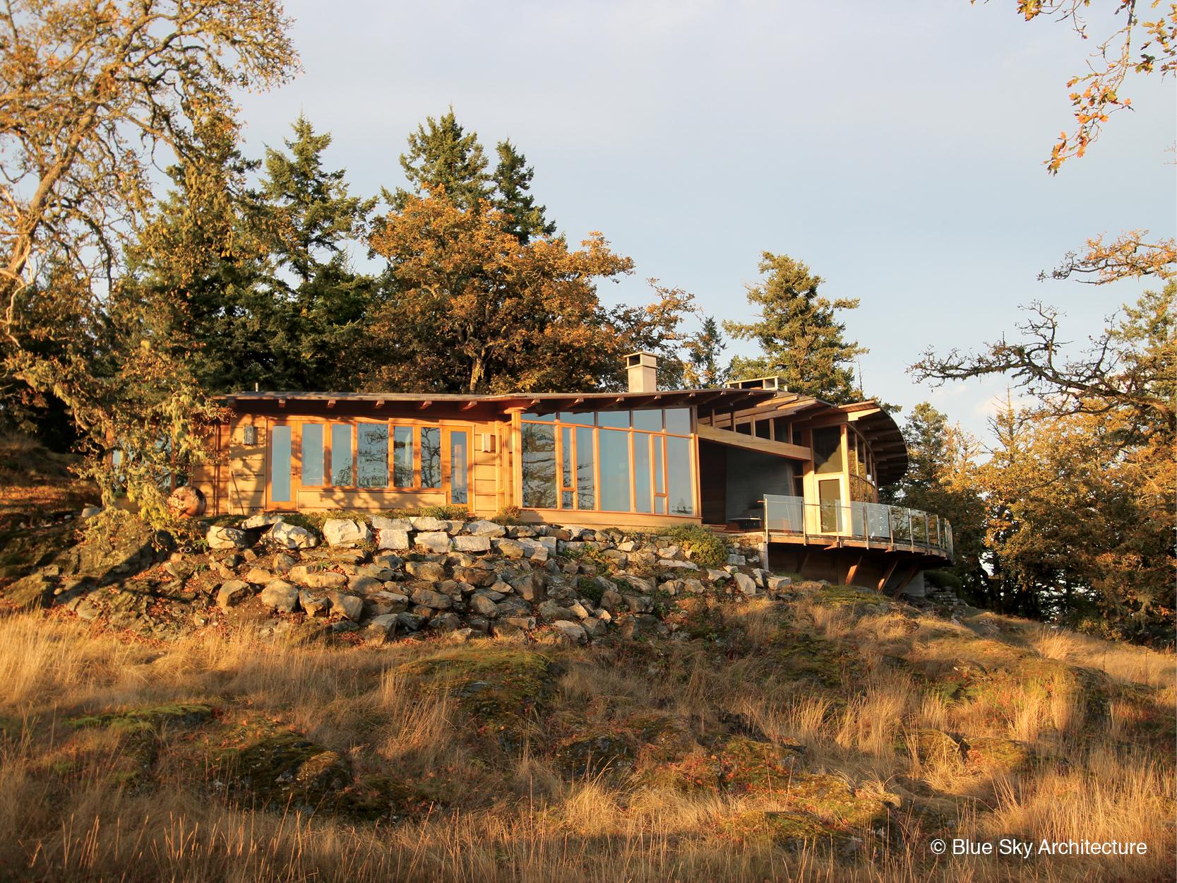 Oak Grove House Island architecture