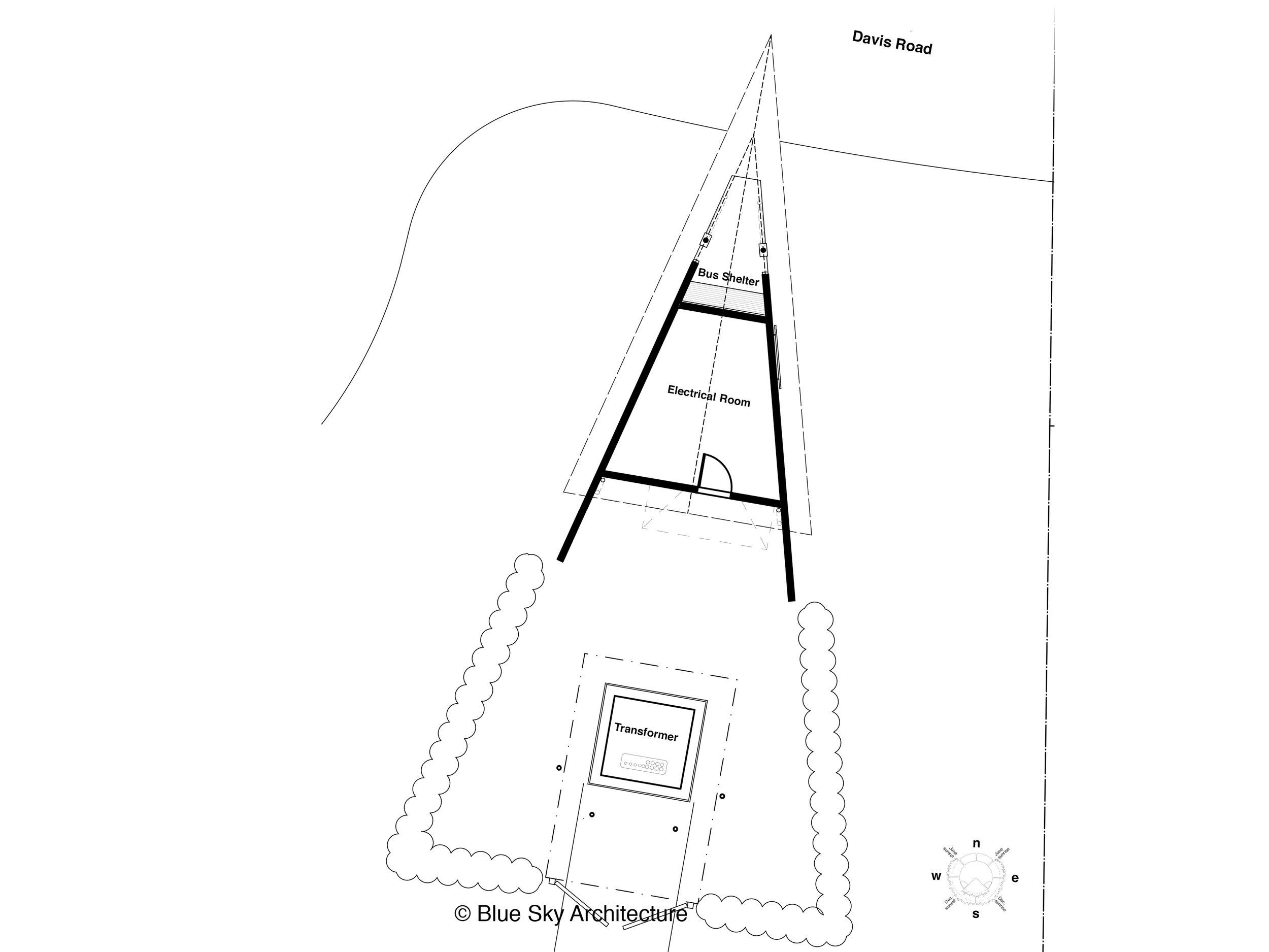 Triangular Gateway Plan View