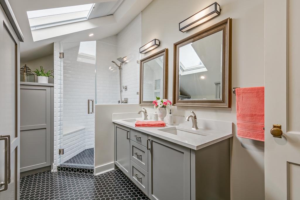 Vintage Style Bathroom Remodel   Marlo Creative Interiors   Calgary Interior Designer