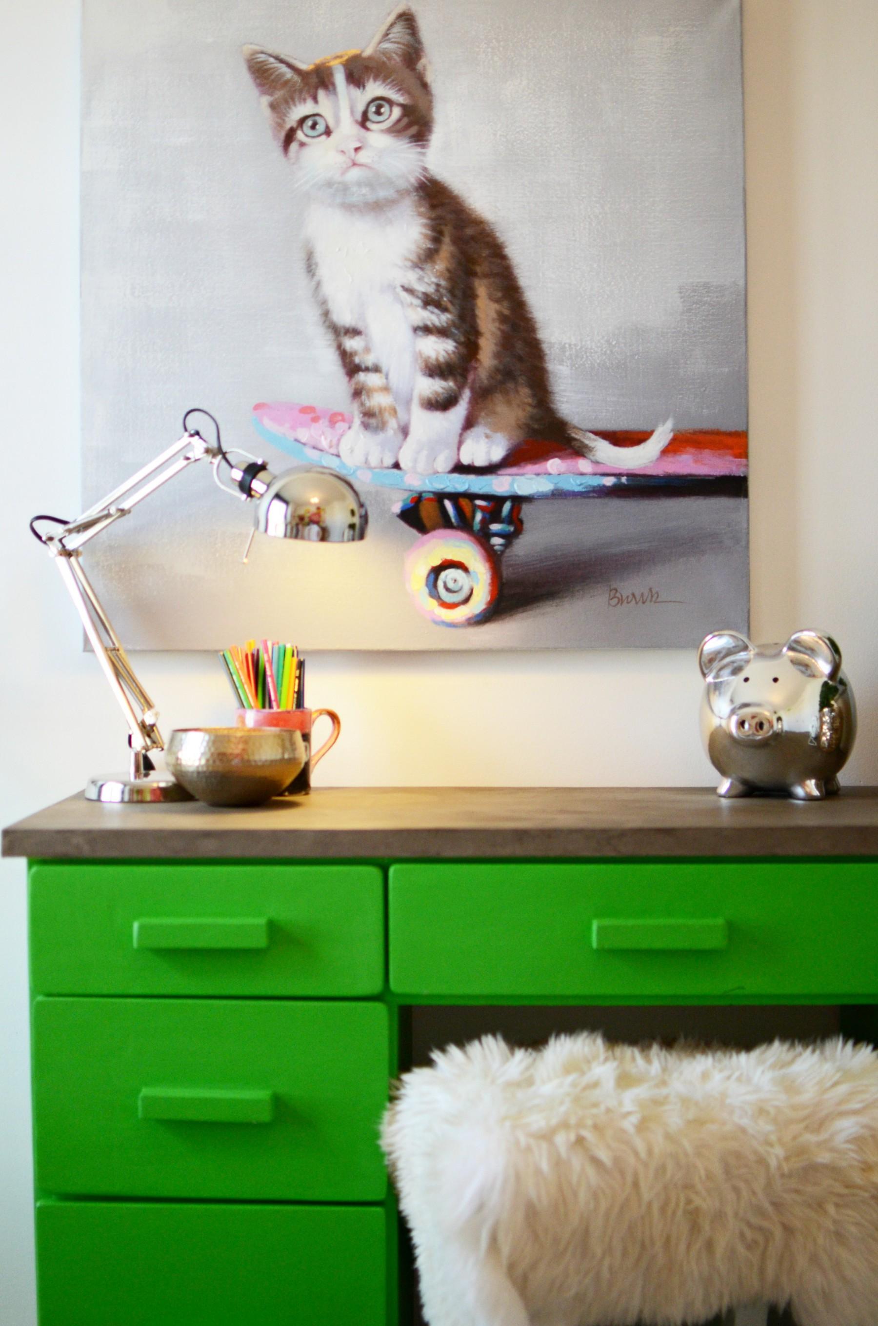 Colourful Girl's Bedroom   Marlo Creative Interiors   Calgary Interior Designer