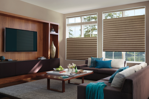 Hunter Douglas Solera window coverings