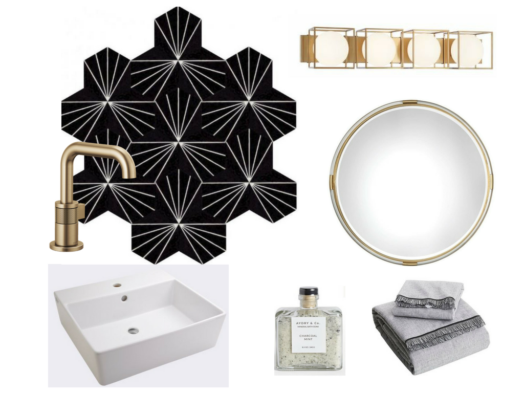 Calgary Interior Designer - How to create a modern a luxurious masculine ensuite