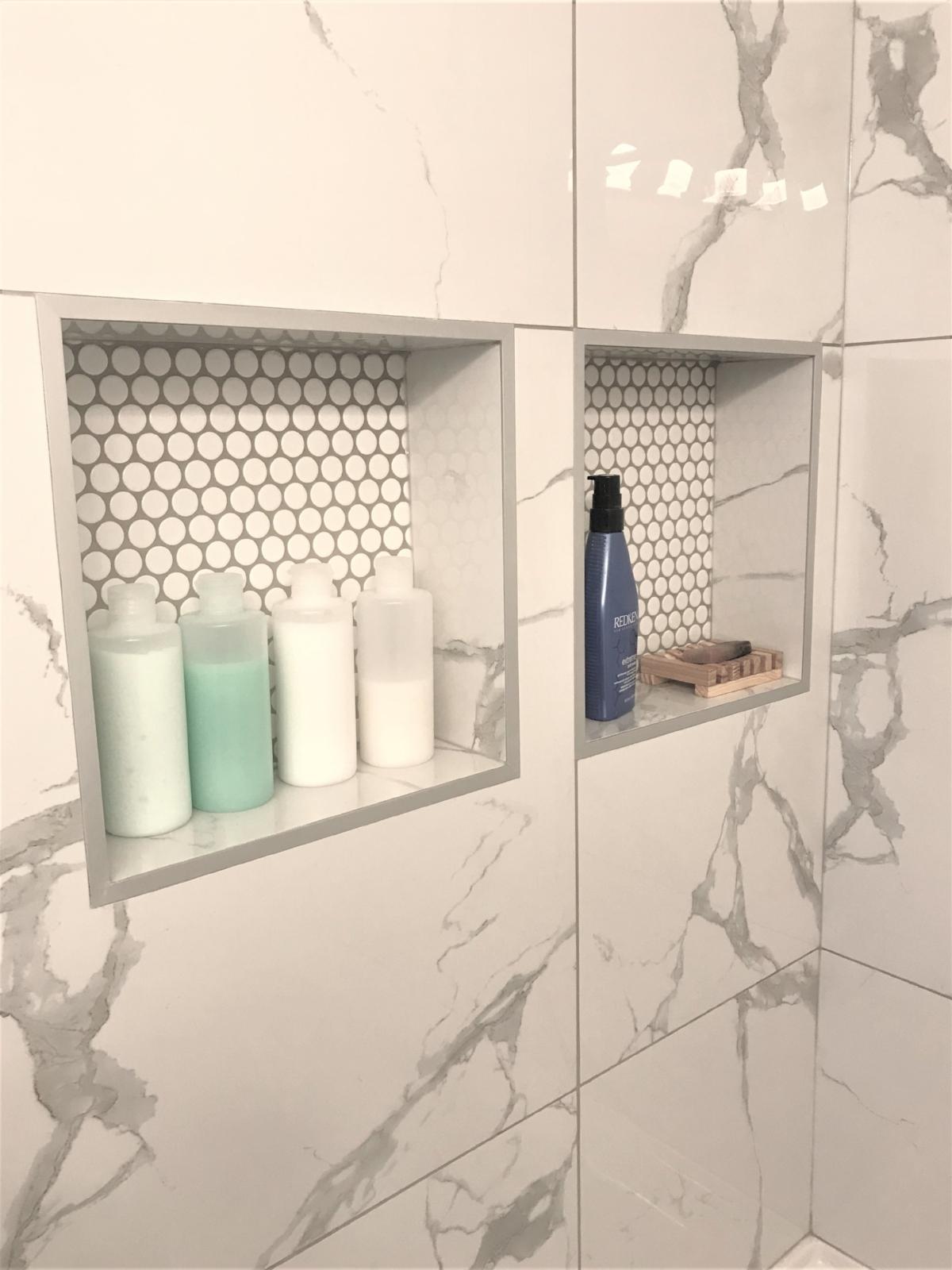Calgary Interior Designer - How to make your tiny bathroom feel larger