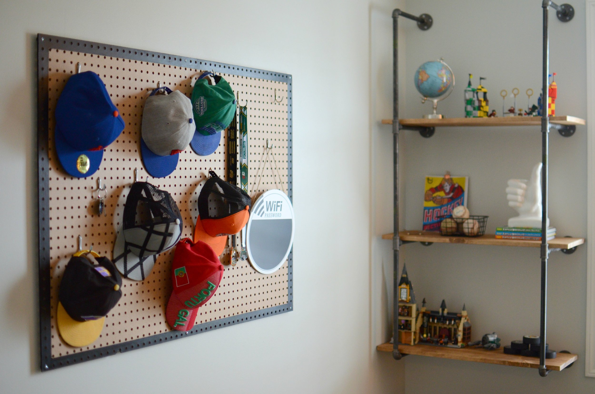 Calgary Interior Designer | Industrial Boys Bedroom Makeover