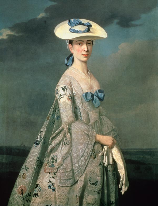 """""""Eleanor Frances Dixie"""", Painted by Henry Pickering, c 1753"""