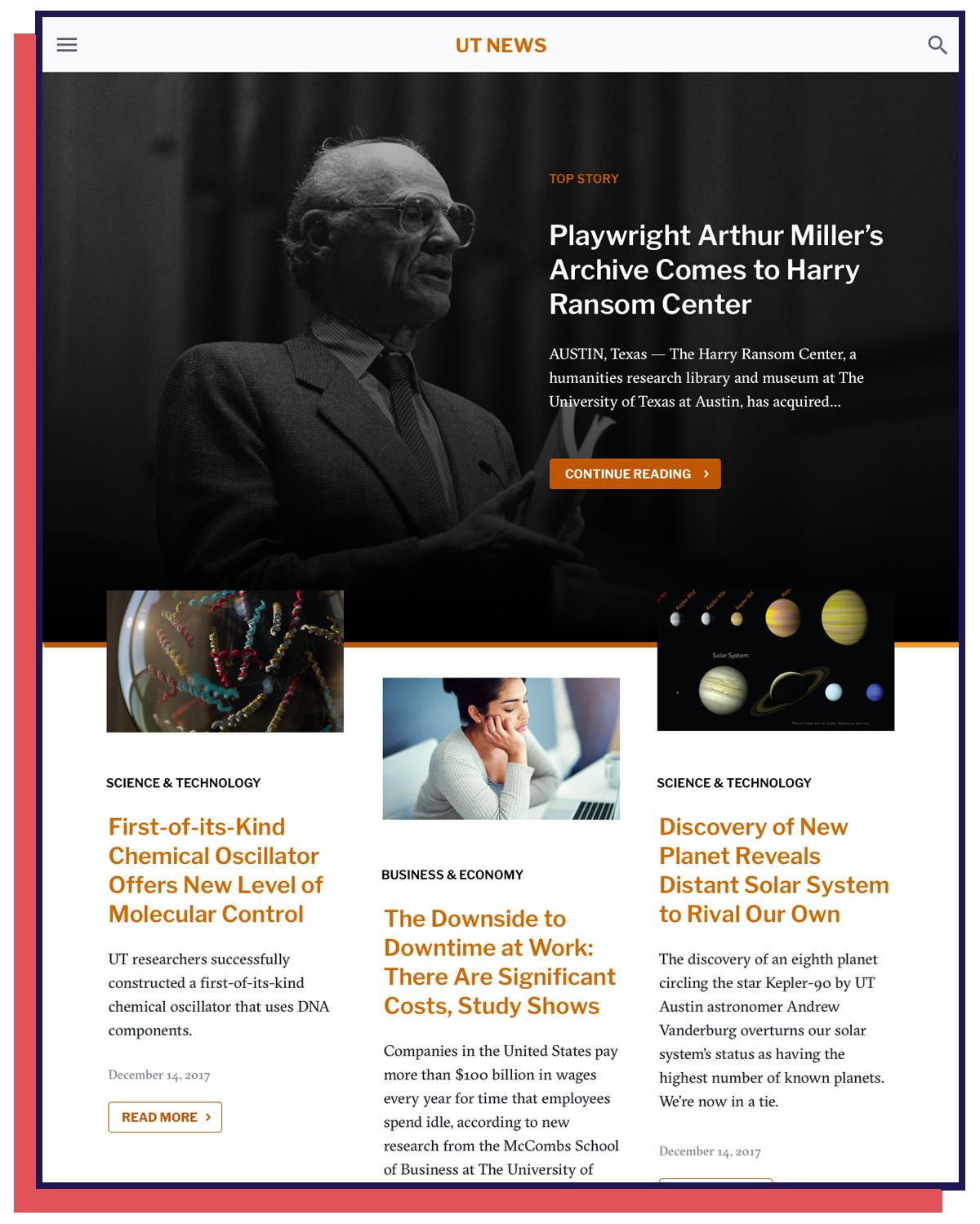 News Homepage
